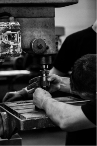Photographie ouvrier usine