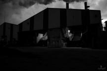 L'usine la nuit