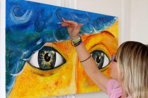 Artiste au travail